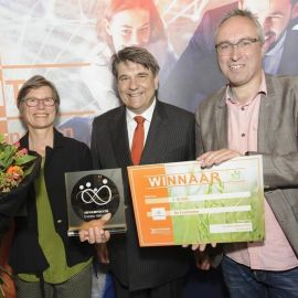 De Fruitmotor wint Accon-AVM Circulair Award